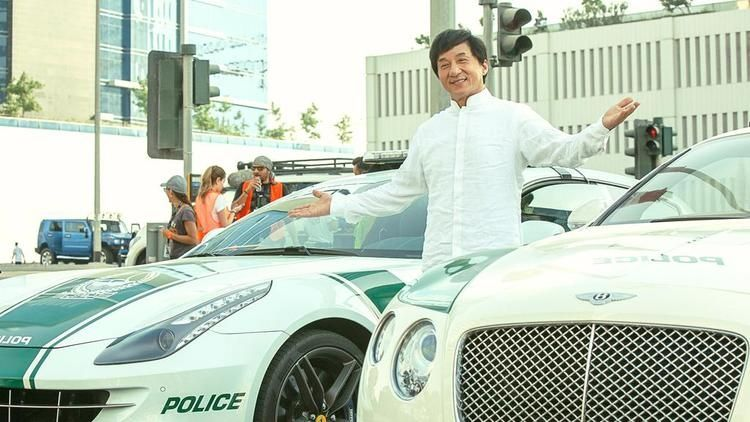 فيلم جيد لـ جاكي شان يتم تصويره في دبي فيديو