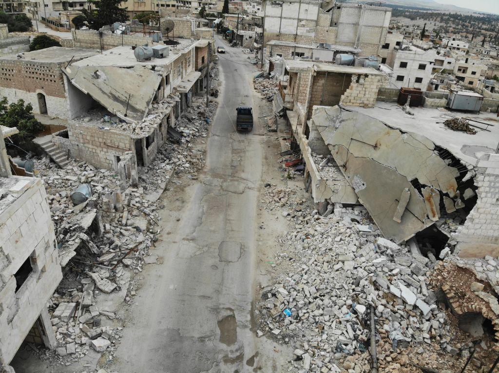 قتلى وجرحى بقصف جوي للطيران الروسي في إدلب
