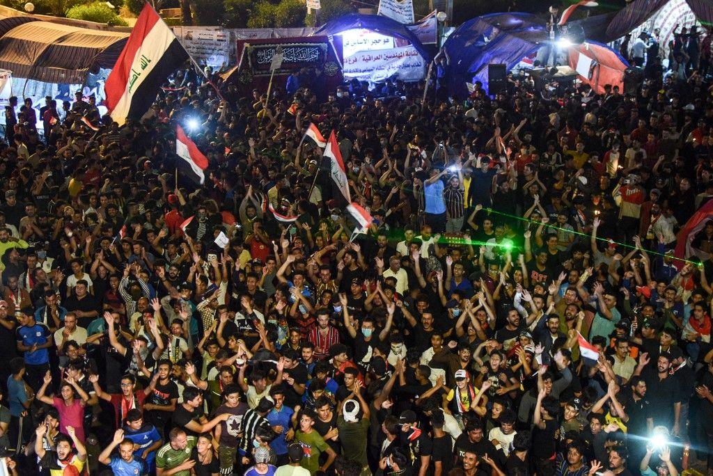 احتجاجات العراق: آخر التطورات أول بأول