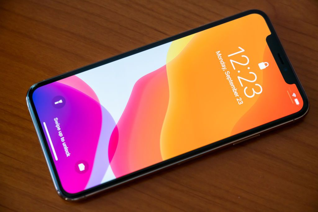 SHANGHAI, CHINA - 2019/09/23: Details of an iPhone 11 Pro Max smartphone. (Photo Illustration by Alex Tai/SOPA Images/LightRocket via Getty Images)