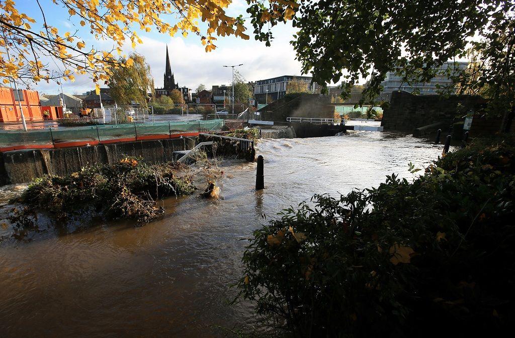 General view shows the Rotherham locks, in Rotherham, near Sheffield, Britain November 8, 2019. REUTERS/Jon Super