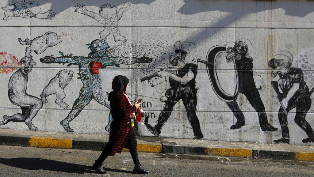 433 حصيلة قتلى الاحتجاجات من المتظاهرين والأمن في العراق