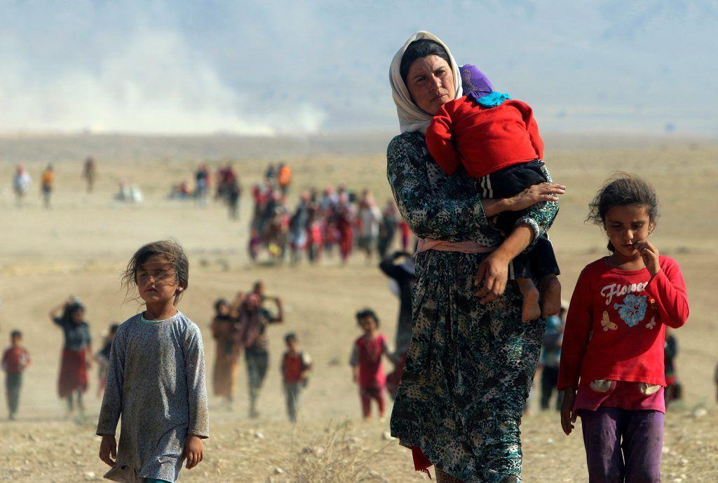 أرهاب داعش وخطف الأطفال.. ذكريات مؤلمة ومعاناة مستمرة للأسر الإيزيدية بكركوك