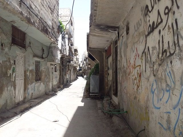 ماذا يخطط النظام السوري لحي تشرين؟