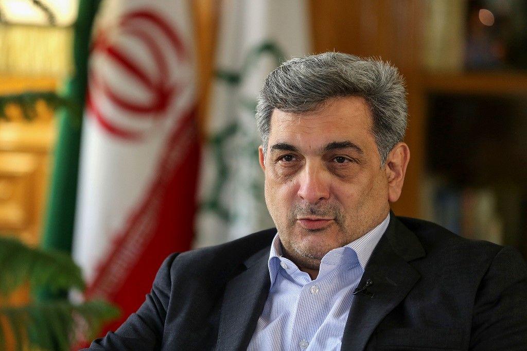 """رئيس بلدية طهران: استياء الإيرانيين يشكل """"تهديداً للجميع"""""""