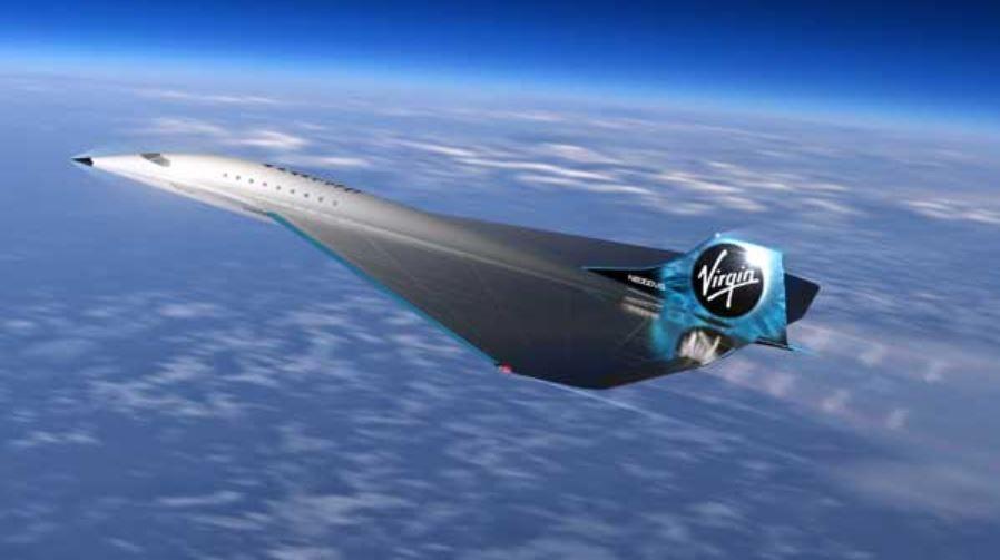 من لندن إلى نيويورك في 90 دقيقة.. الكشف عن تصميم طائرة نفاثة أسرع من الصوت