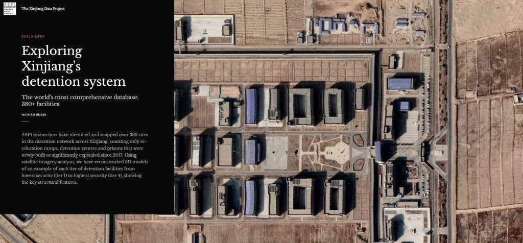 مشروع بيانات شينجيانغ.. صور الأقمار الإصطناعية تفضح جرائم الصين بحق الإيغور