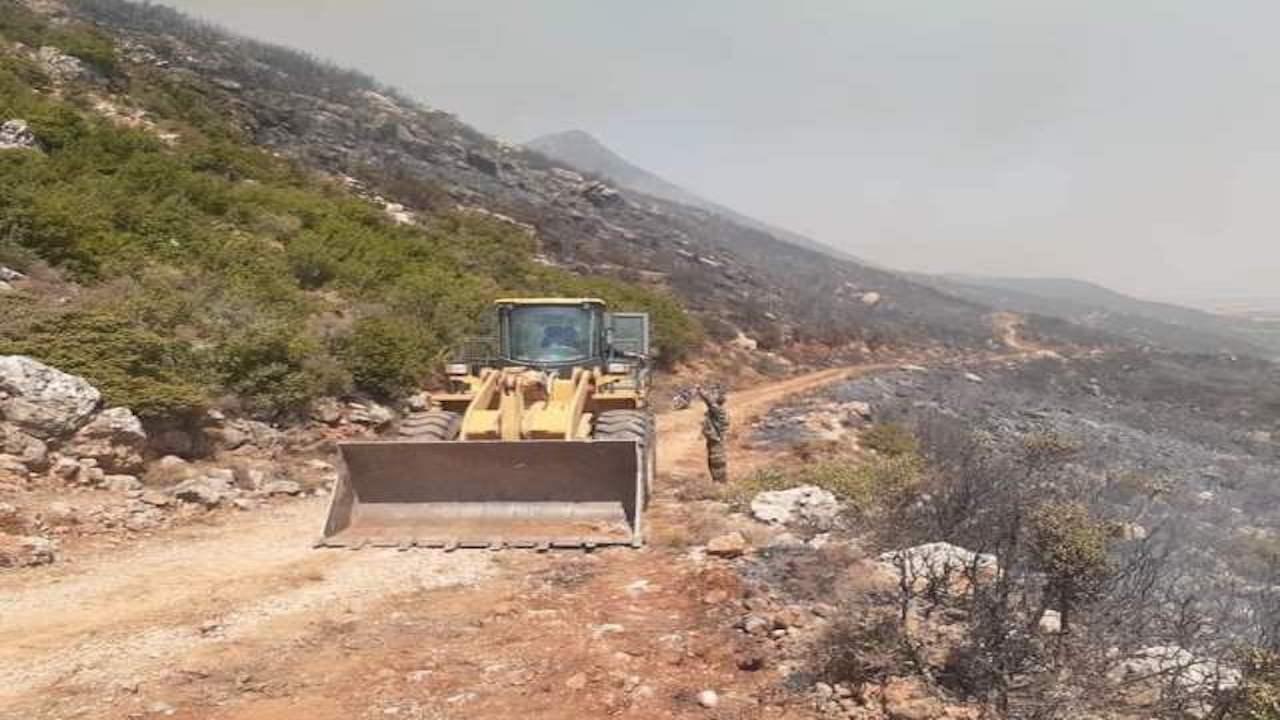 سوريا.. الحرائق أتت على جبال مصياف وصلنفة وشردت الأهالي