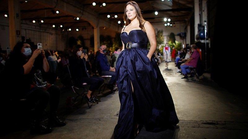 صورة لعارضة الأزياء آشلي جراهام /رويترز
