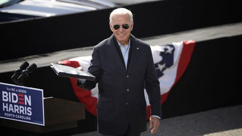 المرشح الرئاسي الديمقراطي الأمريكي جو بايدن/رويترز