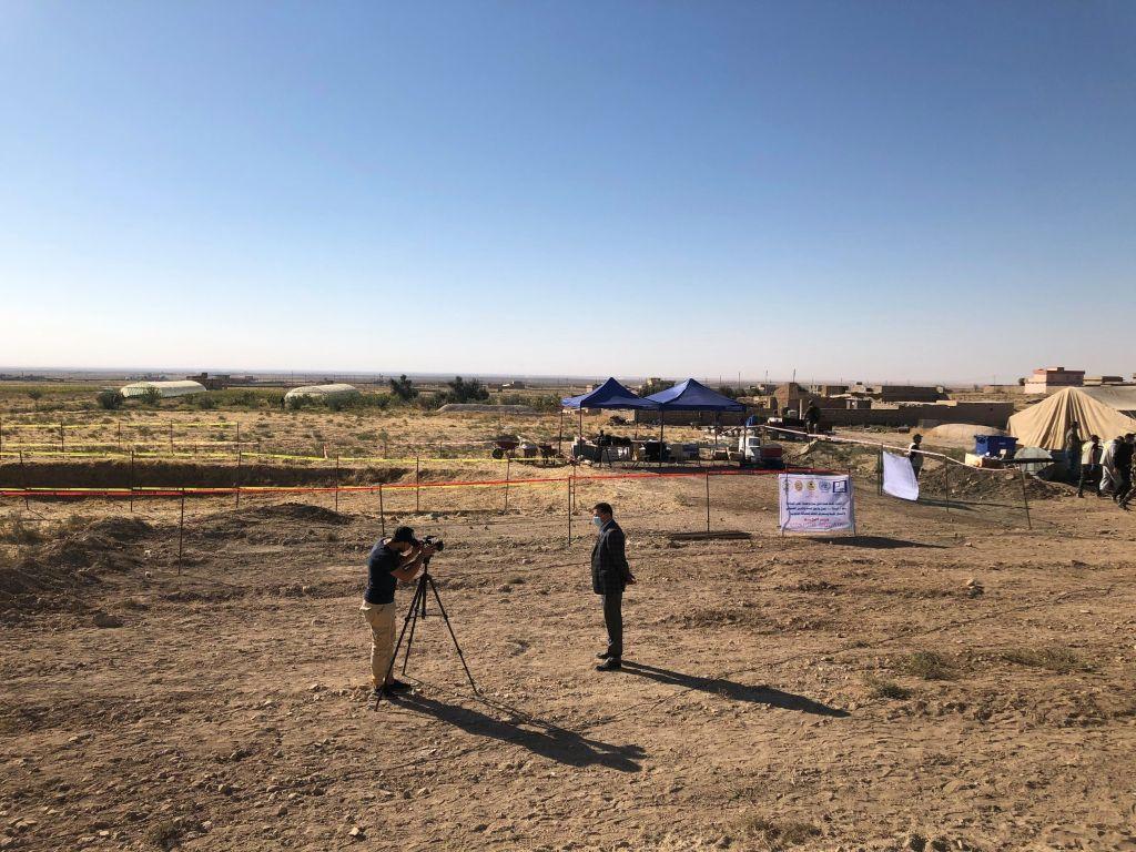 فتح مقبرة للإيزيديات اللواتي قتلهن داعش في سنجار