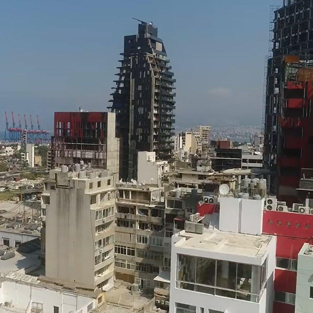 بعد أكثر من شهرين على إنفجار مرفأ بيروت: مجرد أنقاض وشلل تام