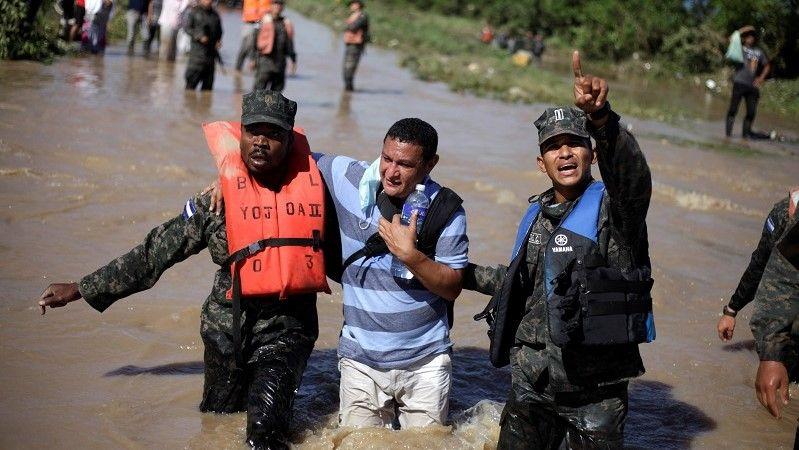 العاصفة إيوتا تقترب من أمريكا الوسطى