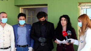 افتتاح مركز مكافحة كوفيد 19 في سنجار بدعم حصري من الأهالي