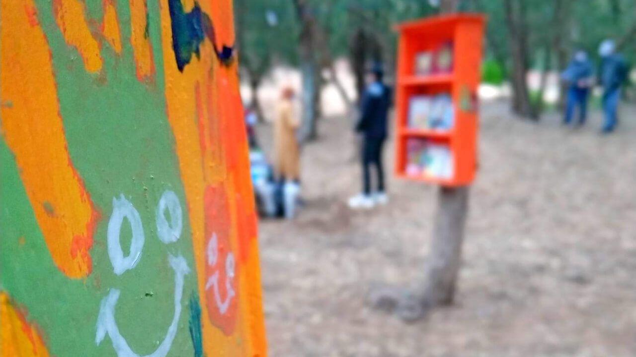 60 شاباً ينشؤون مكتبات بمنتزه سوس بارك ببنسركاو للتشجيع على القراءة