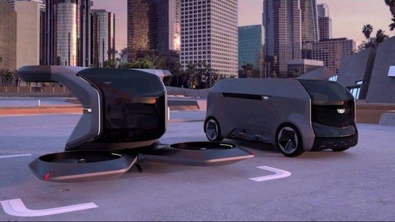 بالفيديو.. جنرال موتورز تكشف عن سيارة طائرة مستقبلية