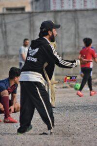 أنا حسن: رغم الشلل أدرب كرة القدم لعشاقها من شباب مدينتي البصرة