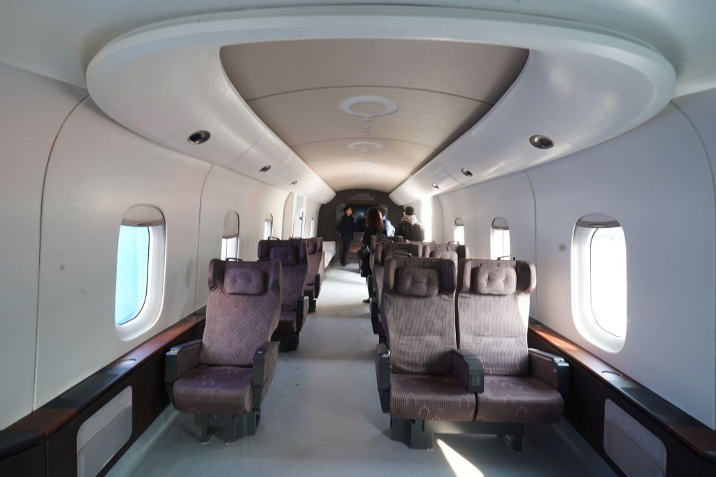 """الصين تكشف عن """"ماغليف"""" نموذج أولي للقطار الأسرع في العالم"""