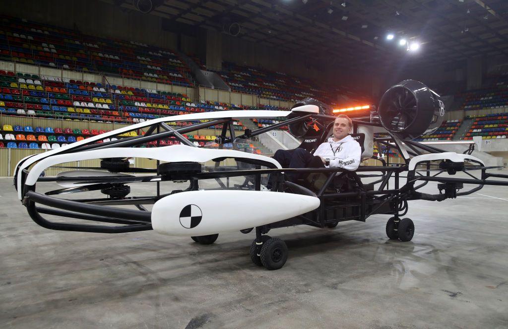 الكشف عن نموذج تاكسي طائر فى روسيا