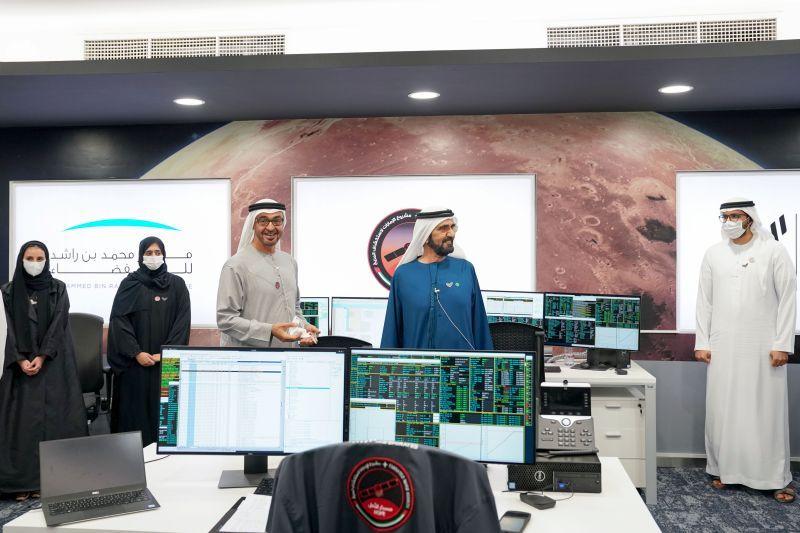 مسبار الأمل.. الإمارات تقود مرحلة جديدة من التاريخ العلمي العربي بالوصول إلى المريخ