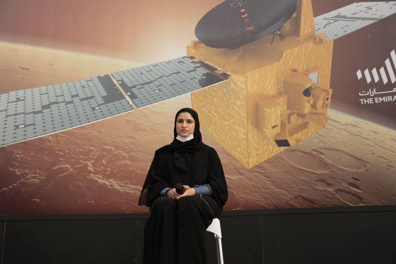 مسبار الأمل يبدأ مهامه العلمية بعد وصوله المريخ