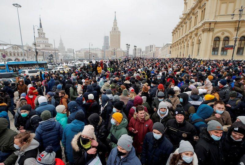 جلسة جديدة في محاكمة نافالني في روسيا