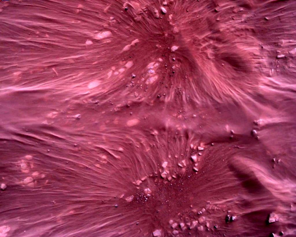 ناسا تنشر لقطات لهبوط المركبة الجوالة برسفيرنس على المريخ
