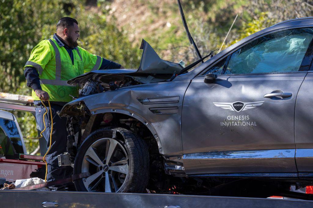 شرطة لوس أنجلوس تكشف سبب حادث تعرّض له نجم الغولف تايغر وودز