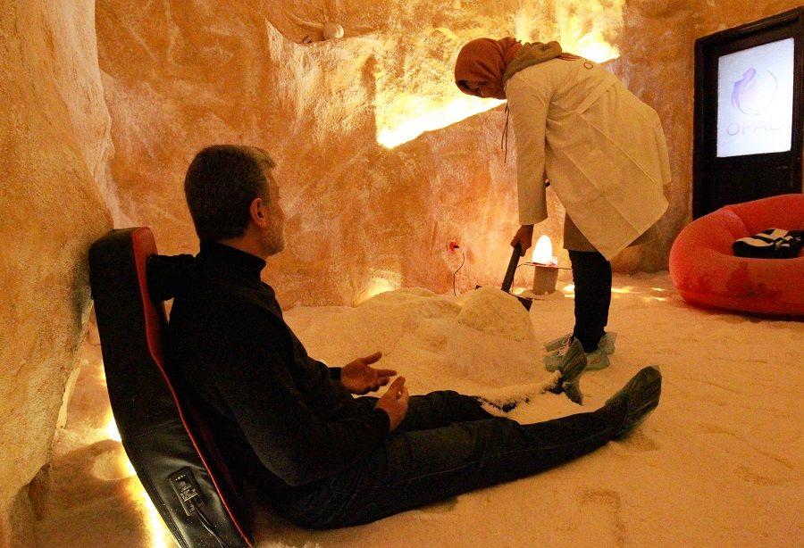 """تعرف بالصور على """"كهوف الملح"""" في بنغازي الليبية"""