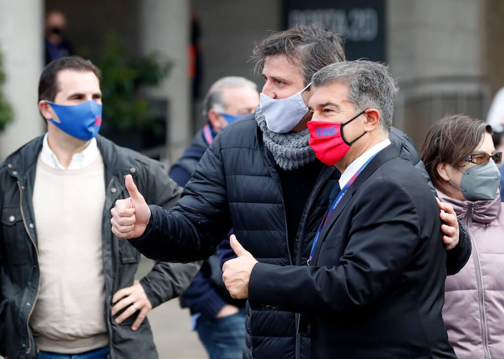انتخابات برشلونة.. استطلاع يؤكد فوز لابورتا