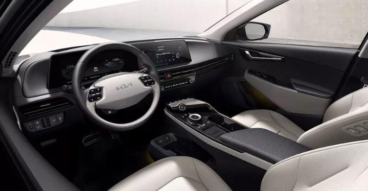 بتصميم مميز.. إليكم الصور الأولى للسيارة الكهربائية EV6 من كيا