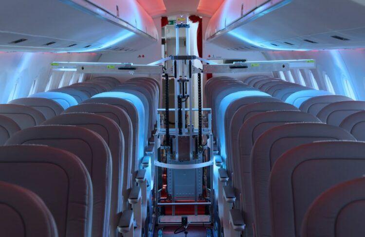 طريقة جديدة لتعقيم الطائرات من الفيروسات
