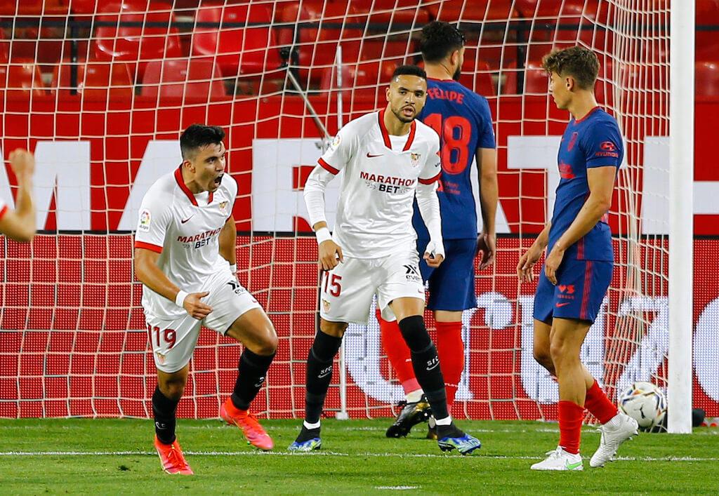 أتلتيكو مدريد يسقط أمام إشبيلية ويشعل الكلاسيكو