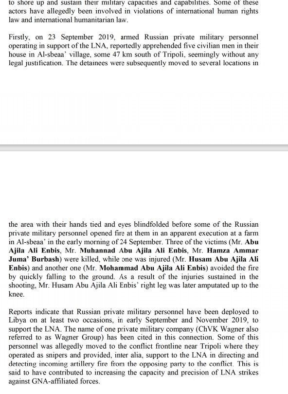 المهنة قاتل ..وثائقي يكشف وجود مرتزقة الفاغنر في ليبيا وقيامهم بجرائم حرب
