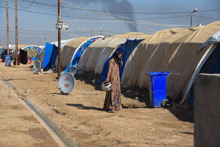 تسريبات.. نقل المئات من عائلات داعش من سوريا الى العراق
