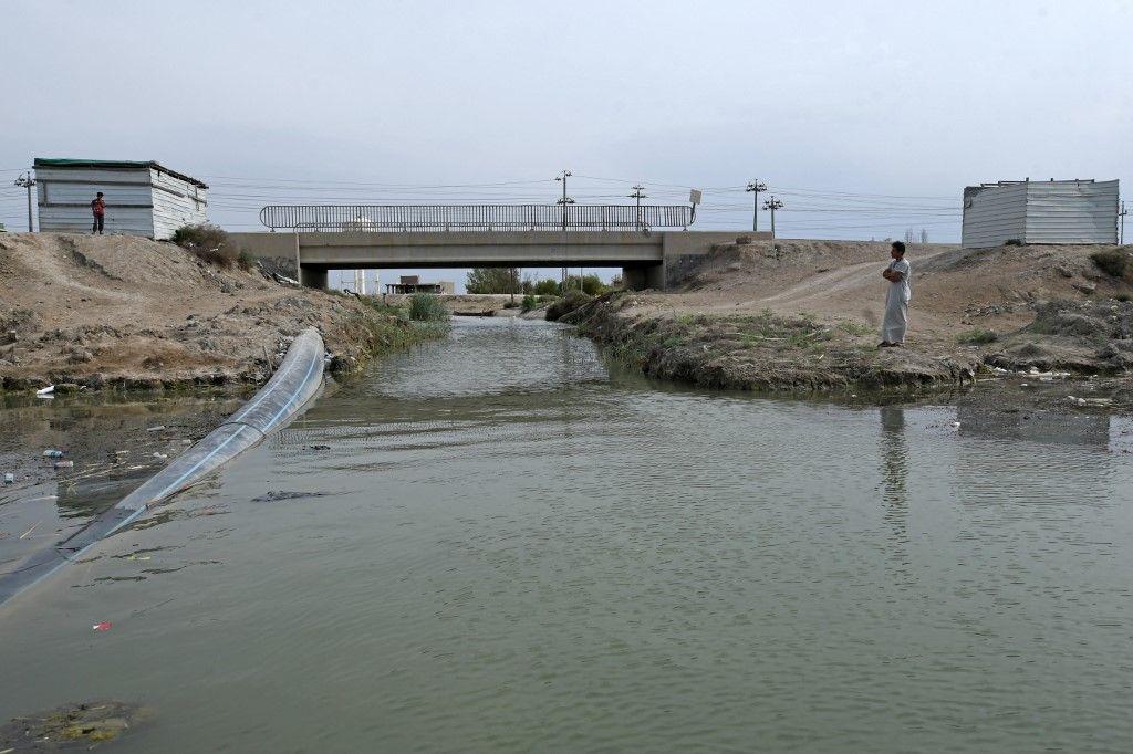 مياه الصرف الصحي الملوثة تهدد أهوار العراق