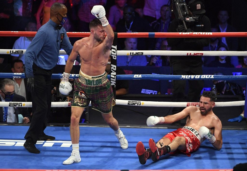 جوش تايلور يهزم خوسي راميريز خلال نزال قوي في لاس فيغاس