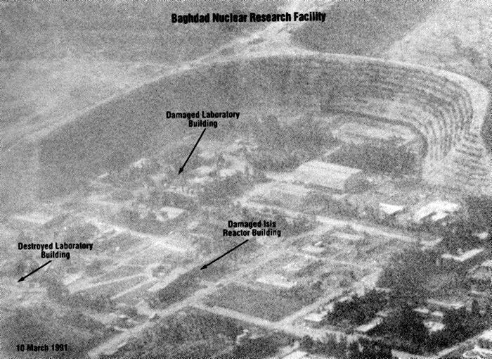 أوزيراك - المعالم الرئيسية لنواة المفاعل