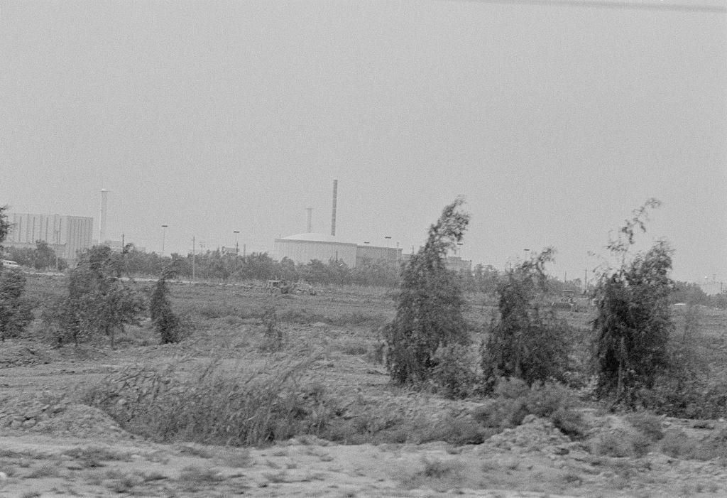 مفاعل أويزراك عام 1980