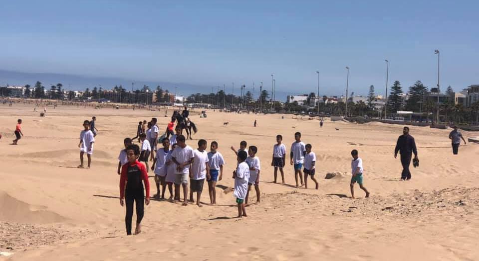 بمشاركة 40 طفلًا.. تظاهرة رياضية للتوعية بأهمية البيئة بالصويرة
