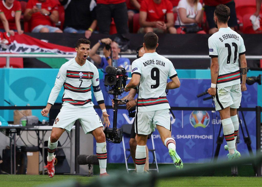يورو تريند: رونالدو يصنع التاريخ.. وجمهور المجر يعيد الحياة للملاعب