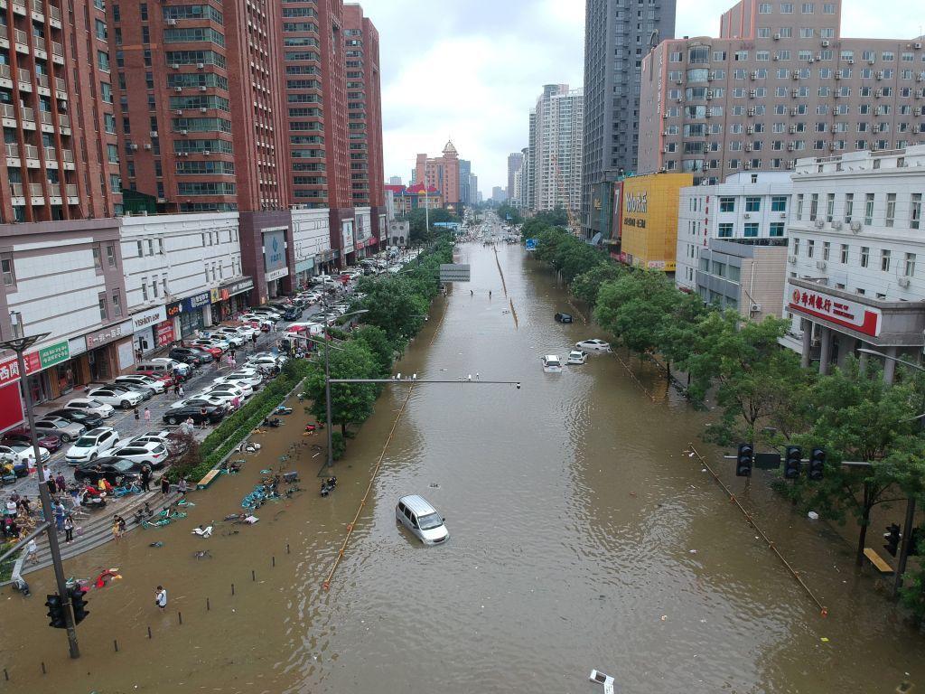 ارتفاع حصيلة الفيضانات في الصين إلى 33 قتيلا و8 مفقودين
