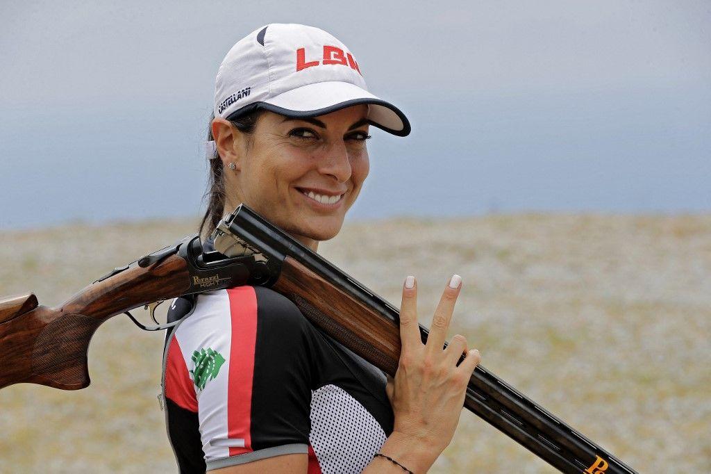 راي باسيل تحلم بإهداء لبنان أول ميدالية أولمبية منذ 41 عاماً