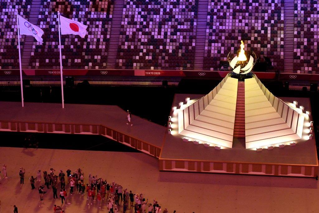 """""""لحظة أمل"""".. افتتاح منافسات طوكيو 2020 بعد طول انتظار"""