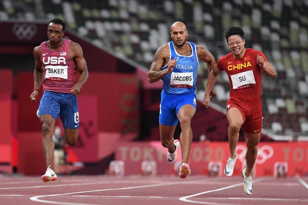 لامونت مارسيل يتوج بذهبية 100 متر ويحقق إنجازاً غير مسبوق