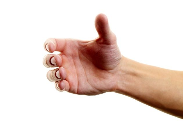 يد رجل
