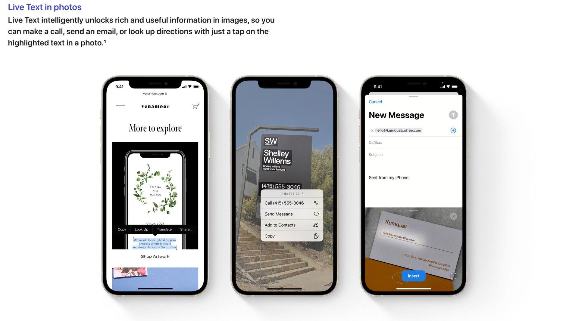 قبل انطلاق حدث أبل 2021.. إليكم كل التفاصيل التي ترغبون في معرفتها عن هاتف أيفون الجديد ونظام IOS 15 - Live text