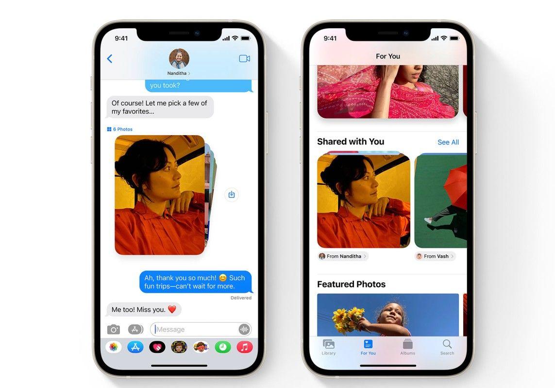 قبل انطلاق حدث أبل 2021.. إليكم كل التفاصيل التي ترغبون في معرفتها عن هاتف أيفون الجديد ونظام IOS 15 - Imessages