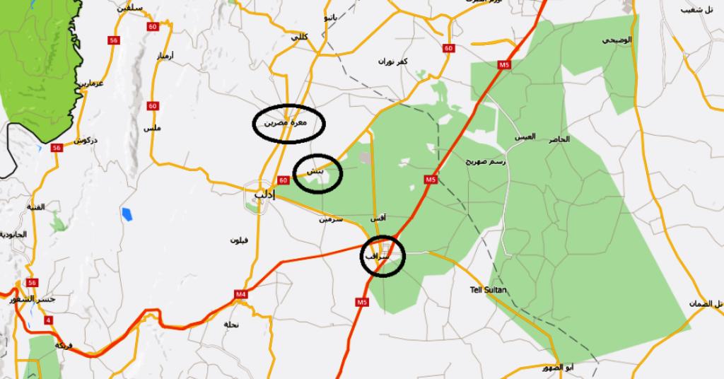 قتلى وجرحى في غارات متفرقة على قرى وبلدات ريف ادلب