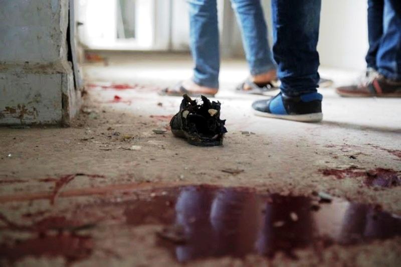 إرهاب روسيا في إدلب .. مجزرة مدرسة معرة النعمان